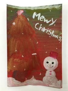 クリスマスカード(小学6年生)